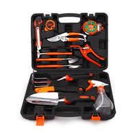 12 pièces outils de jardin et cadeaux ensemble outils horticoles combinaison alliage d'aluminium pelle de jardin outils de combinaison domestique