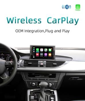 Dla Audi A1 A3 A4 A5 A6 A7 A8 Q2 Q3 Q5 Q7 MMI RMC bezprzewodowy Apple CarPlay samochód grać Android lusterko samochodowe kamera cofania tanie i dobre opinie OUTMIX CN (pochodzenie) podwójne złącze DIN Rohs WEEE NONE 4*45W DVD-R RW DVD-RAM VIDEO CD JPEG 1024*600 1 36kg bluetooth