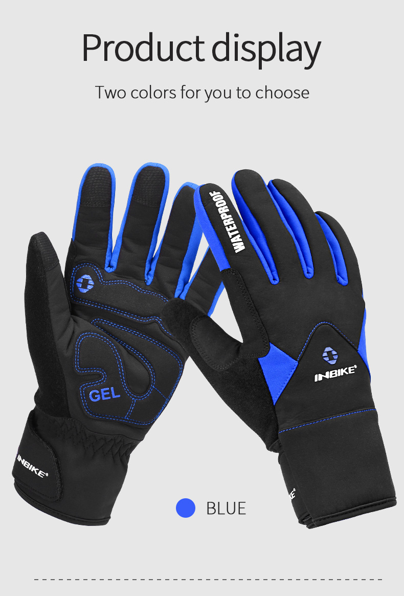 Full Finger Cycling Gloves MTB Bike Bicycle Equipment Riding Outdoor Sports Fitness Touch Screen GEL Padded Accessories