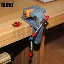 Mini étau en alliage d'aluminium, pince pour t-plug/TRX/XT90/XT60-plug, outil de soudage, bricolage, table d'étau Miniature de rechange TRX-4 TRX-6