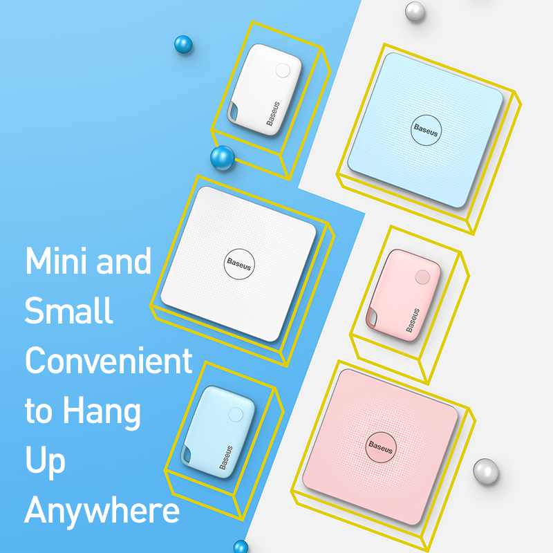 Baseus Mini Smart Tracker with Bluetooth and Alarm Function For Pet Dog/Cat/ and Wallet 1