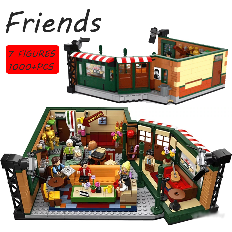 In Stock Lepinblocks 21319 Friends Central Perk Classic TV Series American Drama Building Block Bricks Toy Christmas Best