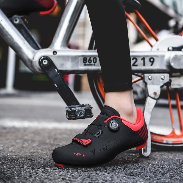 2020 nova upline sapatos de ciclismo de estrada dos homens sapatos de bicicleta de estrada ultraleve tênis de auto-bloqueio profissional respirável 4