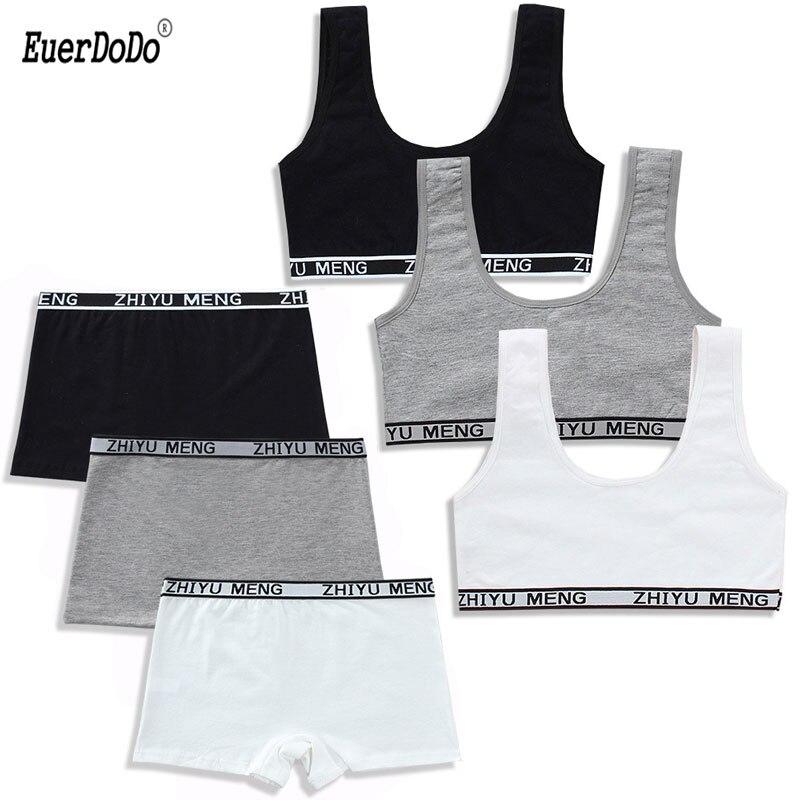 Girls Underwear Kids Sport Vest Child Training Bra Teenager Elastic Lingerie