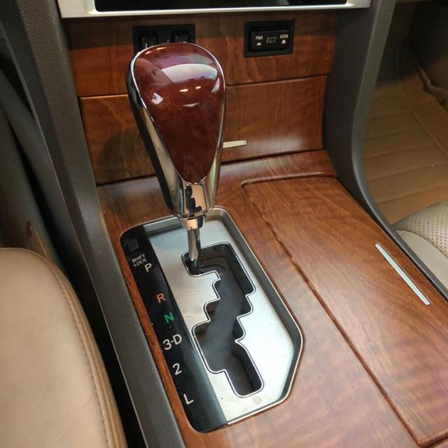 Boîte de vitesses automatique poignées pommeau de levier de vitesse tête de bâton pour Toyota Camry Rav4 LEVIN Highlander Verso Corolla YARIS