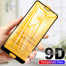 9D For Honor 9X Pro 8X Screen Protector Tempered Glass For Huawei Honor 9X 20S 20 Pro View 20 V20 8X Full Cover Protective Glass(China)