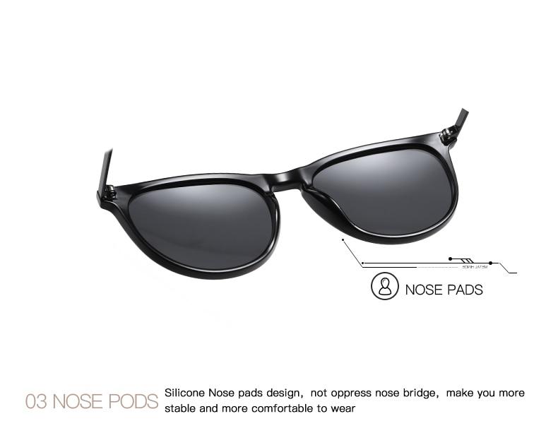 H39447972c1884b6e89a0f217ac2b79d2G AEVOGUE New Women Polarized Korean Fashion Sunglasses Men Driving Retro Outdoor Glasses Brand Design UV400 AE0816