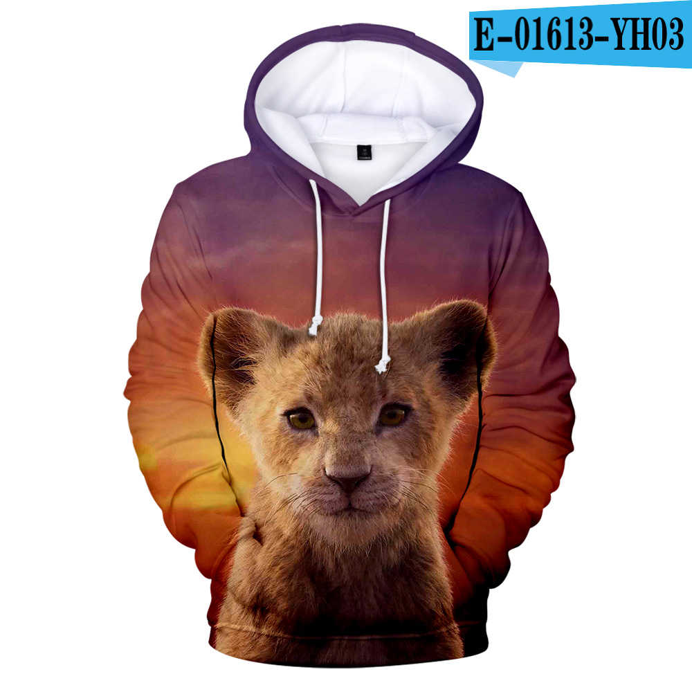 Fashion Design 3d The Lion King Hoodies Men Women High Quality Hoodie 3d Print The Lion King Sweatshirt Children Streetwear Hoodies Sweatshirts Aliexpress