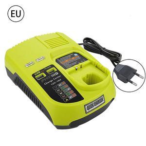 Image 2 - P117 Caricatore per Ryobi 12V 18V Batterie Dual Chimica Caricatore Li Ion Ni cad Ni Mh Battery Charger 12V a 18V MAX di Alimentazione