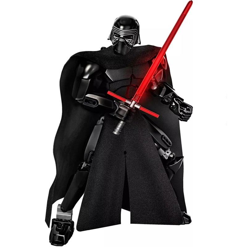 Star Wars Boba Fett Darth Maul Kylo Stormtrooper Phasma Ren Rey Vader Model Assemble Figure Construction Toys For Children 25