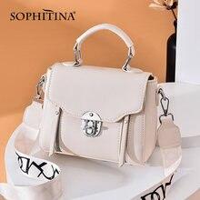 Sophitina стильная женская сумка через плечо; Удобное нижнее