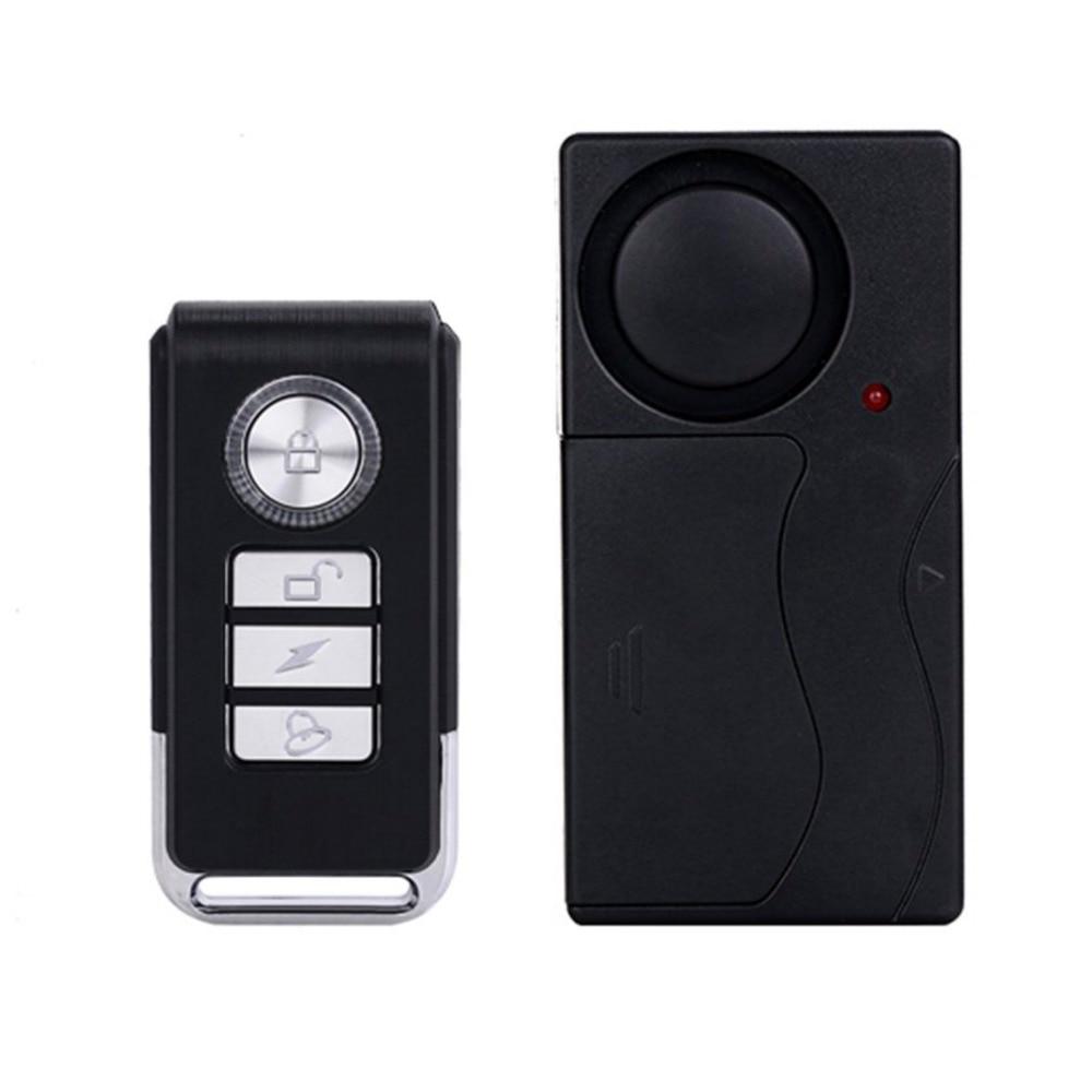 Practical Wireless Remote Control Vibration Alarm Sensor Door Window Car Home House Security Sensor Detector