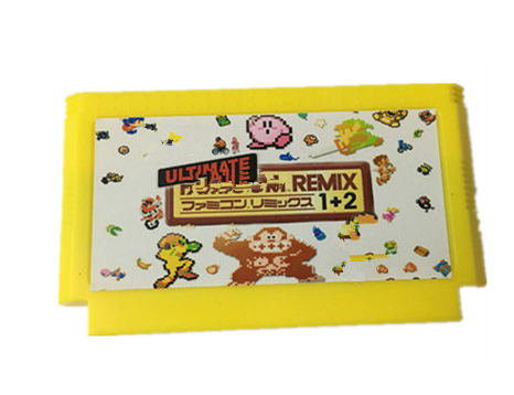 The Ultimate Remix 154 in 1 60Pins game Cart E@rthbound FinalFantasy123 Faxanadu TheZeld@12 Megaman123456 Turtles Kirby's