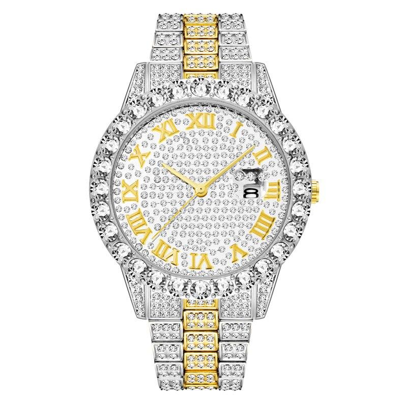 shining large diamonds watch for men hip hop iced out mens quartz watches waterproof auto date business male clock drop shipping relogio masculino reloj hombre zegarek meski (26)