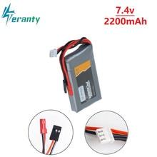 RC Li-Polymer 2S 7,4 V 2200MAH 8C Lipo Batterie Für Flysky GT3B T6 / Futaba 14SG 16SZ 18SZ 2,4 Ghz FASSTest 14ch t10J Sender