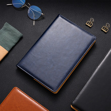 PU Leather Daily Planner Business Office Notebook Journal Agenda 2019 Planner Organizer Notebooks Stationery Supplies cheng jia vintage notebook logo embossed pu leather cover planner office daily travelers journals spiral business notebooks