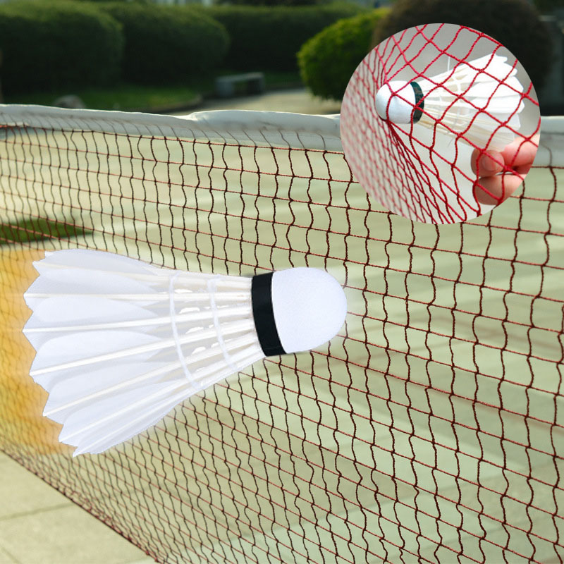 Professional Badminton Net For Volleyball Outdoor Sport Training Standard Tennis Net Mesh Badminton String Net Exercise6.1X0.76m