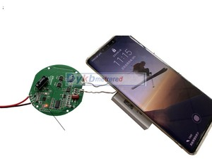Image 5 - 15W 12V 5A Qi Wireless Fast Charger Charging Transmitter Module circuit board 10W/7.5W/5W+ coil FOR CAR Samsung Huawei iPhone