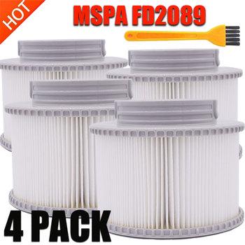 Mspa filtry MSPA FD2089 K808 MDP66 Camaro błękitne morze elegancja jacuzzi Spa wkłady detal + sprzedaż hurtowa dostępne tanie i dobre opinie Odkurzacz części