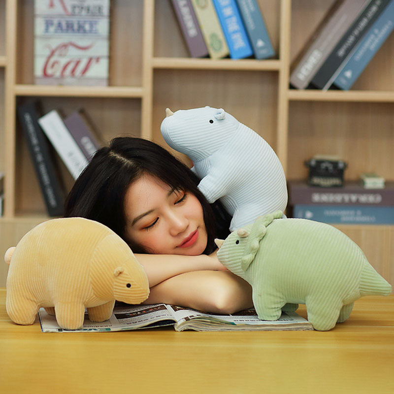 Soft Dinosaur Plush Toy Cartoon Animal Doll Stuffed Toys Cute Kids Pillows Birthday Gifts