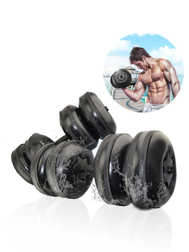 Travel Dumbbells Adjustable Water Fillable Dumbbells Set For Men Portable Exercise Equipment Perfect Fitness Gift For Family