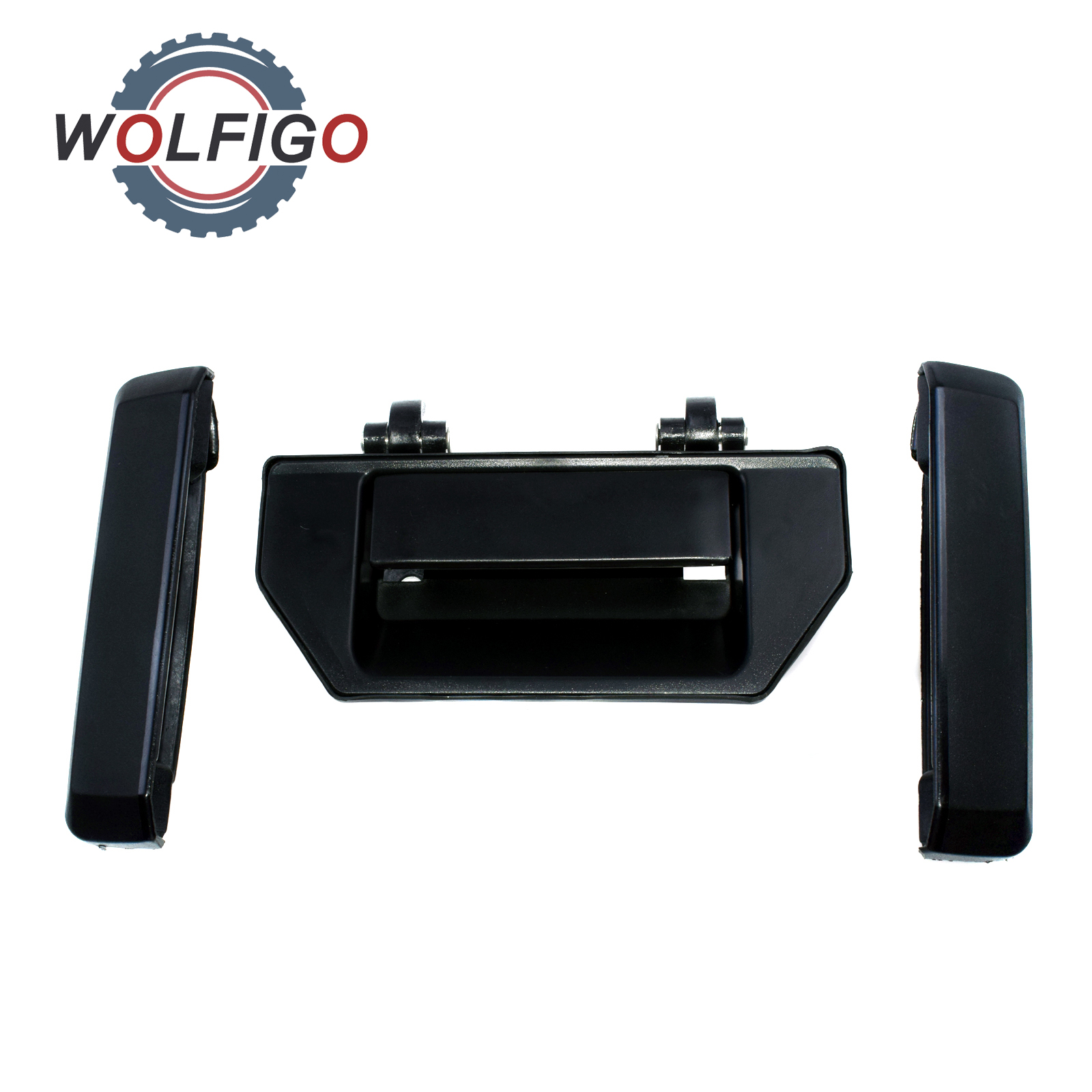 for Toyota Pickup Outside Exterior Handle Liftgate Tailgate Handle Rear Black