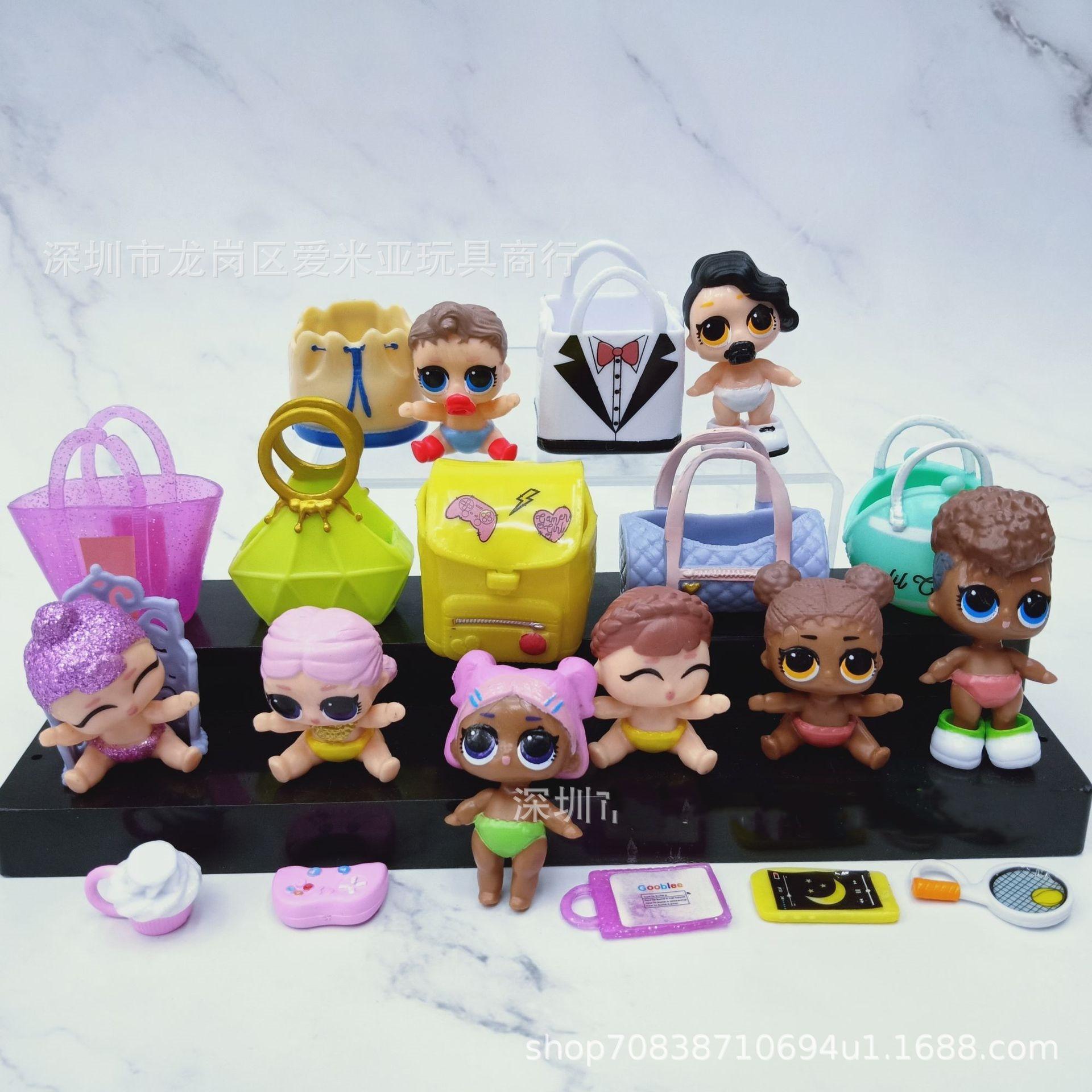 10 Set LOL Surprise Big Sisters Doll Shoes Kids Gift Toy Random