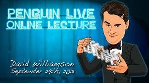 2013 David Williamson Penguin Live Online Lecture  MAGIC TRICKS