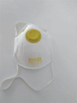 1x N95 FFP2 VENTİLLİ BREATHING MASK (Certified)