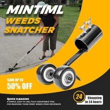 Mintiml雑草snatcher芝生除草ヘッド鋼ガーデン雑草カミソリ芝刈り機ガーデン草トリミング機ブラシカッター