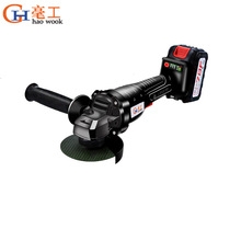 Cordless Angle Grinder 20V Lithium-Ion 6000mAh Grinding Machine Cutting Electric Angle Grinder Grinding Power Tool for Home DIY