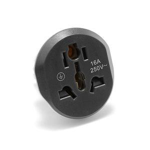 Image 4 - EU Stecker Adapter Universal 16A EU Konverter 2 Runde Pin Sockel AU UK CN UNS Zu EU Steckdose AC 250V Reise Adapter Hohe Qualität