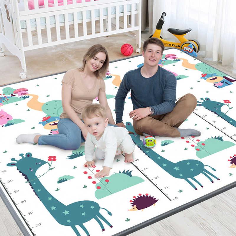 tapis de jeu bebe portable pliable enfant en bas age tapis d escalade respectueux de l environnement epais enfants tapis bebe jeux tapis jouets pour
