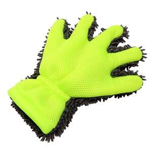 Image 2 - LEEPEE z mikrofibry rękawice do mycia samochodów okno środek do pielęgnacji karoserii Detailing miękkie czyszczenie samochodu narzędzie do mycia sprzątanie domu