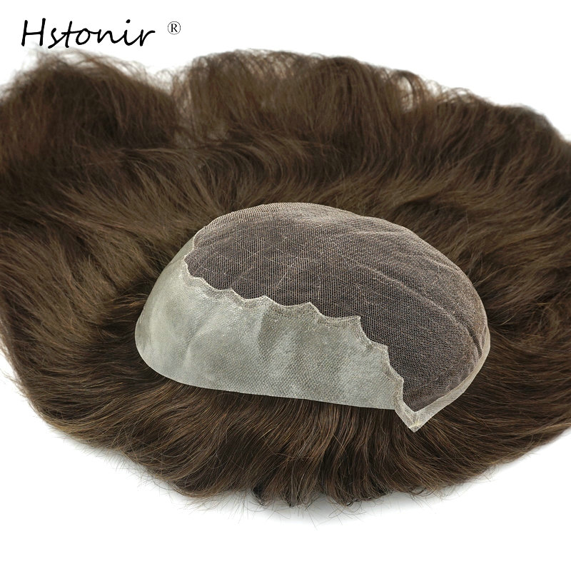 Hstonir Hair Toupet Wig Topper For Women Lace Frontal Indian Remy Hair Humano Ear To Ear Wig Q6 Long Hair TP06