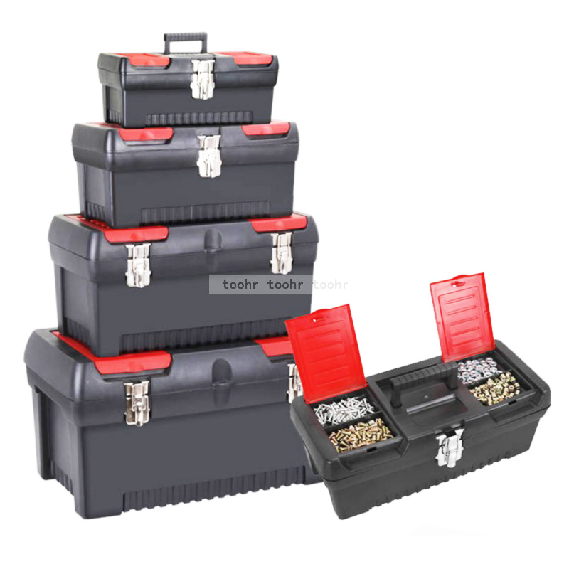 Tool Box Household Large Hardware Electrician Box Multifunctional Maintenance Portable Tool Storage Box Car Case