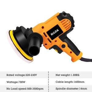 Image 3 - 220V elektryczna maszyna do polerowania samochodu Auto szlifierka regulowana prędkość szlifowanie woskowanie narzędzia akcesoria samochodowe Powewr Tools
