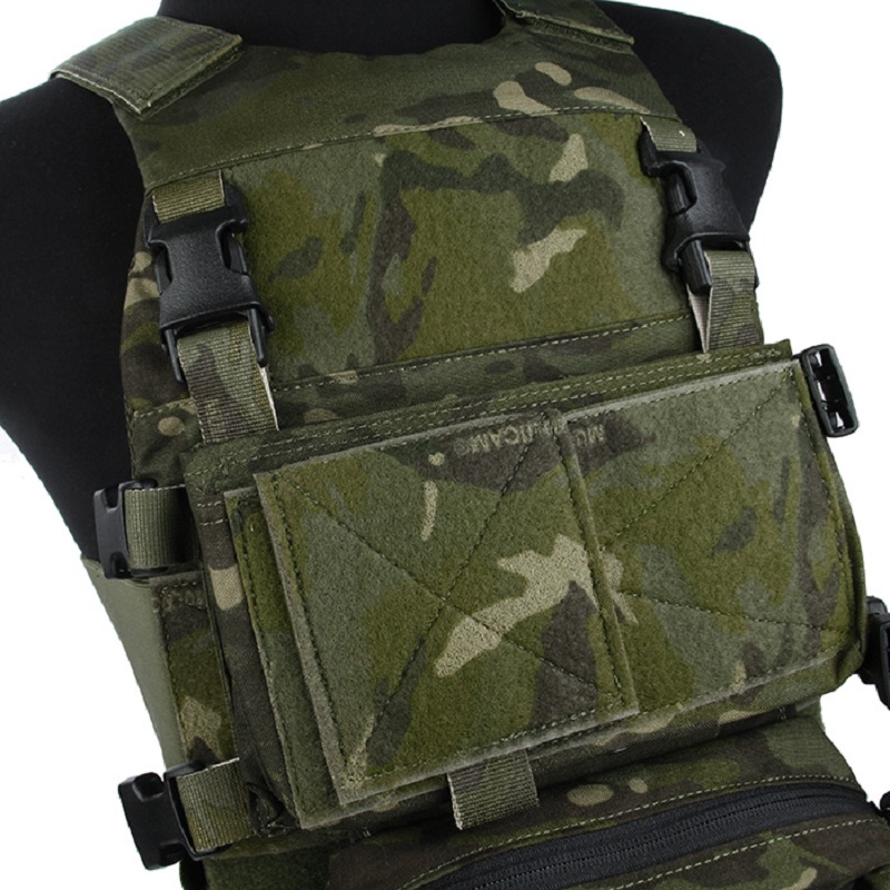 TMC Hunting Tactical Airsoft Modular Chest Rig Vest Set  TMC3171-MTP
