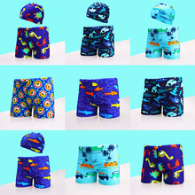 Trunks Shorts Swimsuit Pool Toddler Baby-Boy Beach Children Print Cartoon for Large-Size