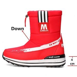 Image 3 - Fedonas inverno novo quente confortável feminino apartamentos plataforma botas de neve com zíper botas de tornozelo feminino casual escritório sapatos básicos mulher