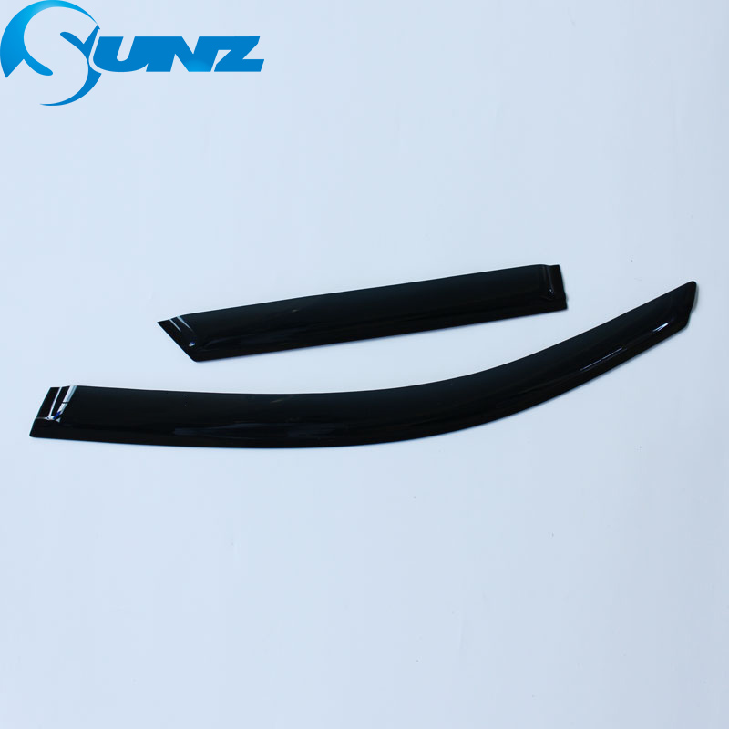 Image 3 - Black Side window deflectors For Ford Territory 2011 Window Visor Vent Shade Sun Rain Deflector Guard Car Styling SUNZ-in Awnings & Shelters from Automobiles & Motorcycles