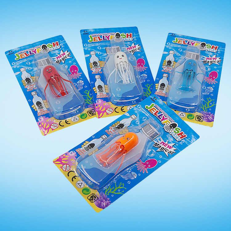 New Magic Jellyfish Brinquedos das Crianças Engraçado Prank Brinquedos Presentes Antistress Jellyfish Magia Adereços Brinquedos Do Bebê Crianças Cores Aleatórias