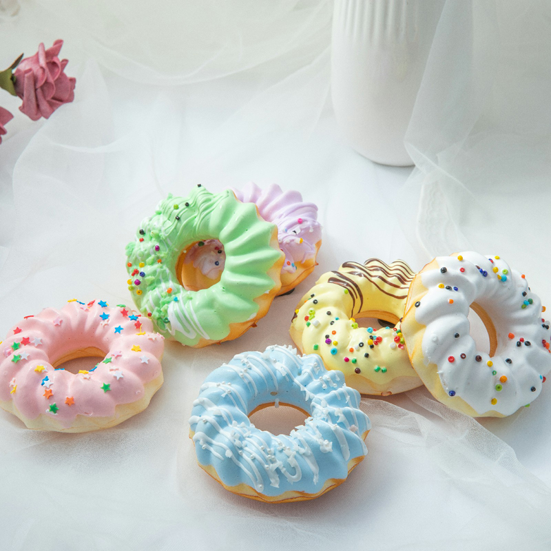 Fake Cake New Arrive Simulation Bread High Artificial Donuts Wedding Valentines Days Decorations Photo Prop