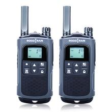 Wiederaufladbare walky talky fern T80 pmr walkie talkie mit privatsphäre code VOX PMR446 ham Radio Lizenz freies zwei weg radio
