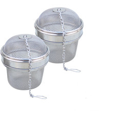 1 шт. необходимый шарик из нержавеющей стали сетка для заварки чая фильтр ситечко w/крюк Свободный чай лист специи дома кухонные аксессуары