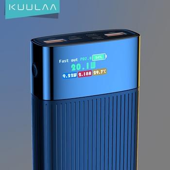 Внешний аккумулятор KUULAA 20000 мАч QC PD 3,0 1
