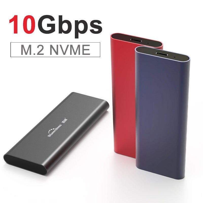 PCIE M.2 NVME USB SSD корпус M Key Type C USB 3,1 2240/2280 SSD чехол из алюминия 10 Гбит/с внешняя коробка Корпус жесткого диска      АлиЭкспресс