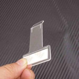 Image 5 - 5pcs סט רכב חניה קליפ מדבקת רכב פנימי ארגונית רכב סטיילינג לרכב שמשה קדמית אטב מדבקת 4
