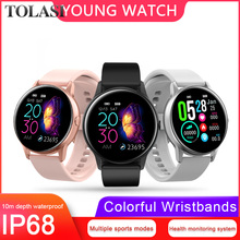 Get more info on the 2019 New Smart Watch Women Men cheep bluetooth android/ios phones 4g waterproof GPS touch screen sport Health SmartWatch