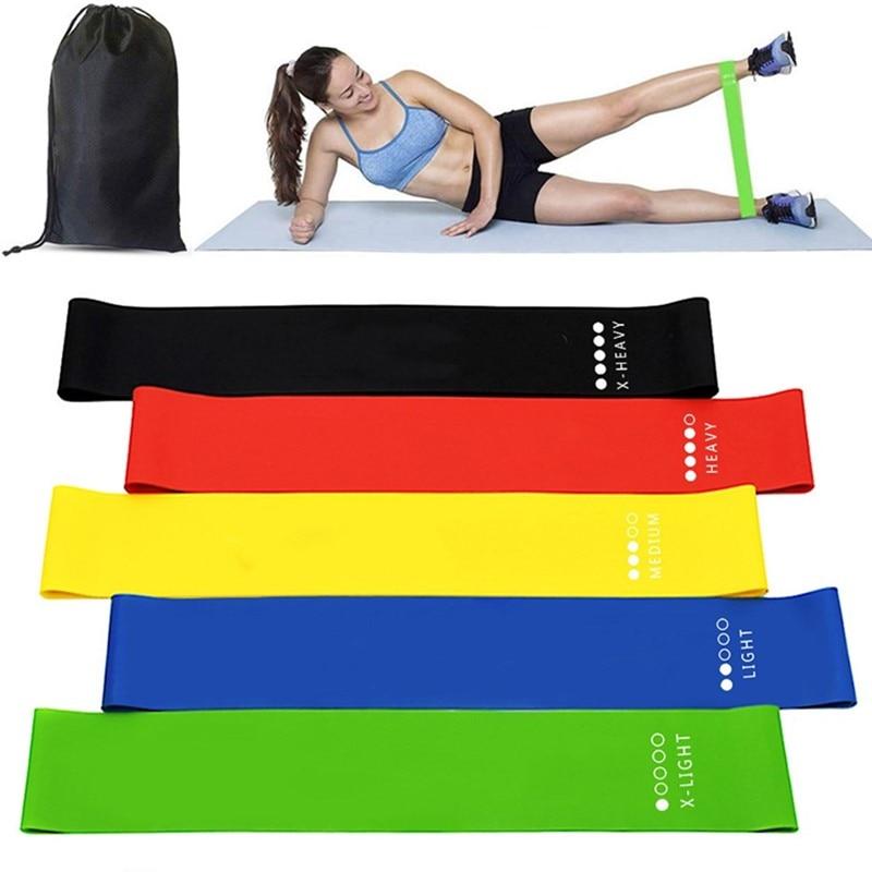 5 Teile/satz Fitness Natürliche Latex Schleife Widerstand Bands Gummi Elastische Yoga Bands Pilates Sport Training Gym Startseite Workout Ausrüstung